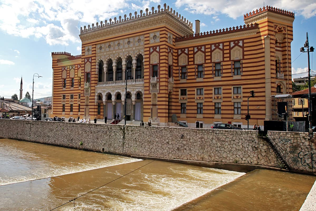 Sarajevon kaupungintalo.