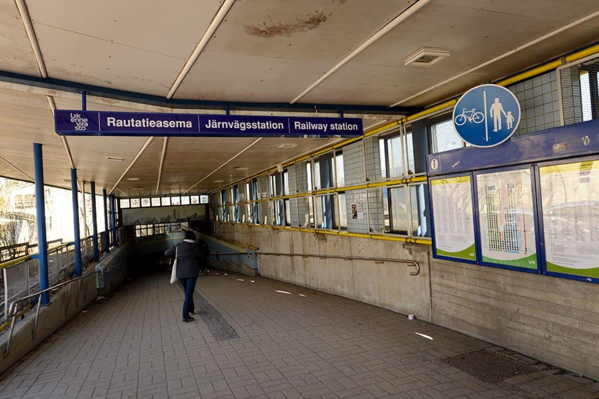 Tapanilan asema Helsingissä.