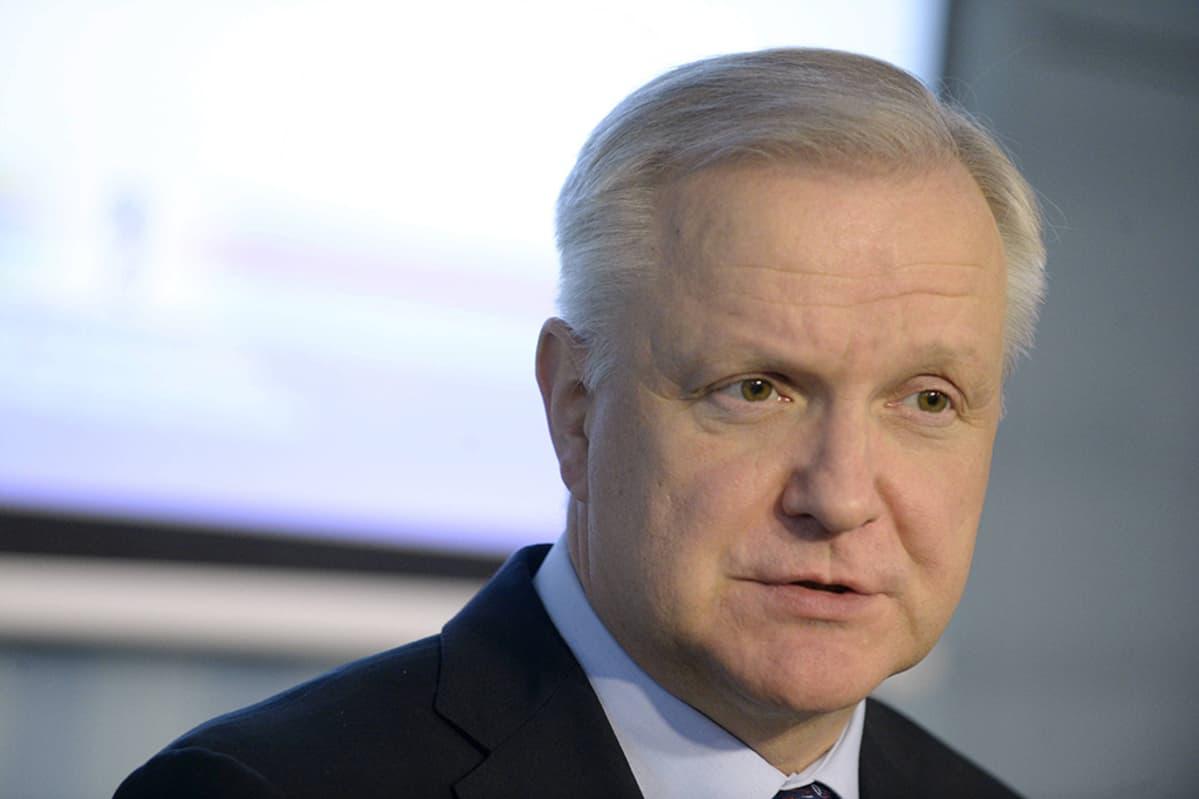 Elinkeinoministeri Olli Rehn.