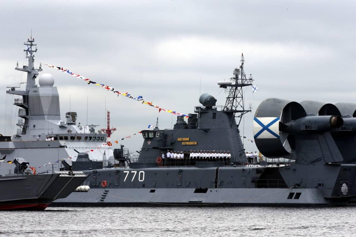 venäjän sotalaivoija