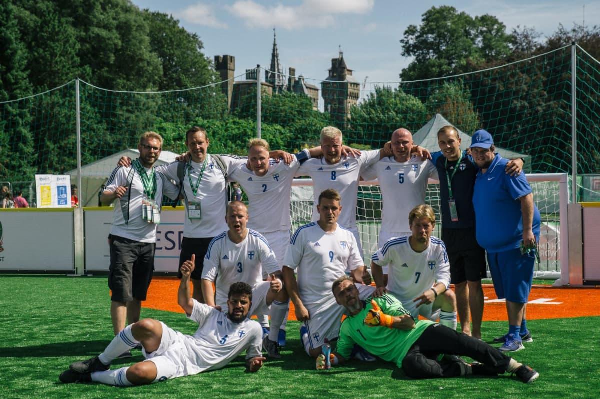 asunnottomien jalkapallon MM 2019 Cardiff