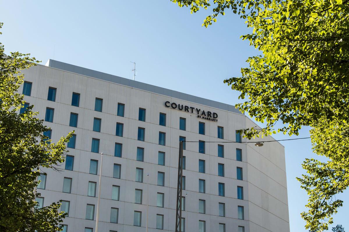 Courtyard by Marriott hotelli Tampereella.