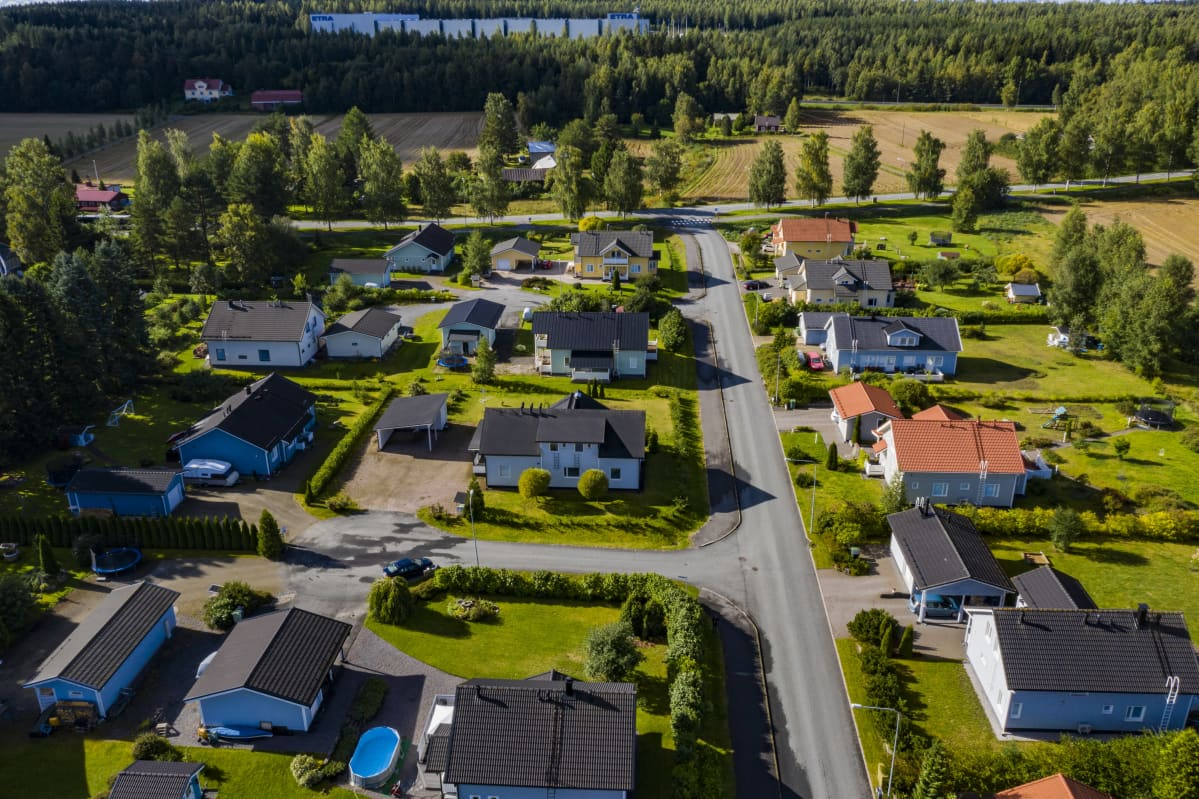 Kiistanalainen lastentalo Hämeelinnassa.
