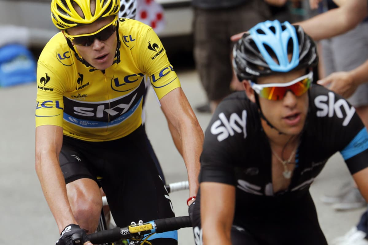 Chris Froome ja Richie Porte