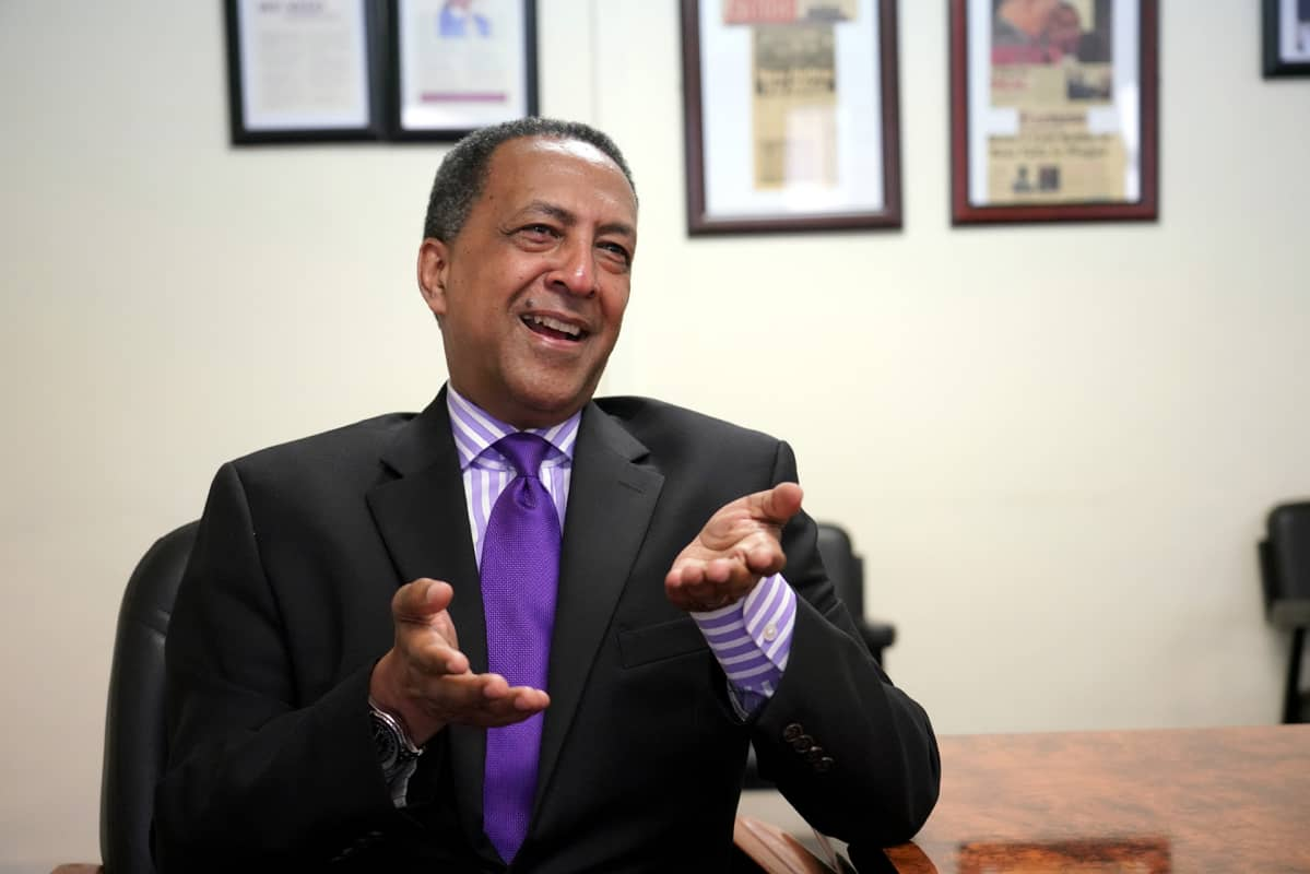 Etiopialais-amerikkalainen suursijoittaja Zemedeneh Negatu uskoo, että Etiopia on sijoittanut Kiinasta lainatut rahat viisaasti.