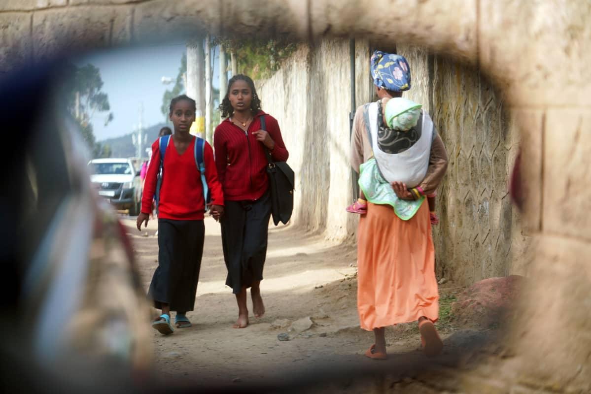 Etiopian väestö kasvaa yli 2,5 miljoonalla joka vuosi.
