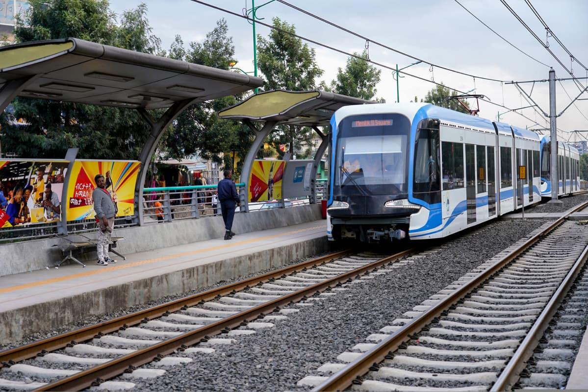 Addis Abeban kaupunkirata avattiin reilut kaksi vuotta sitten.