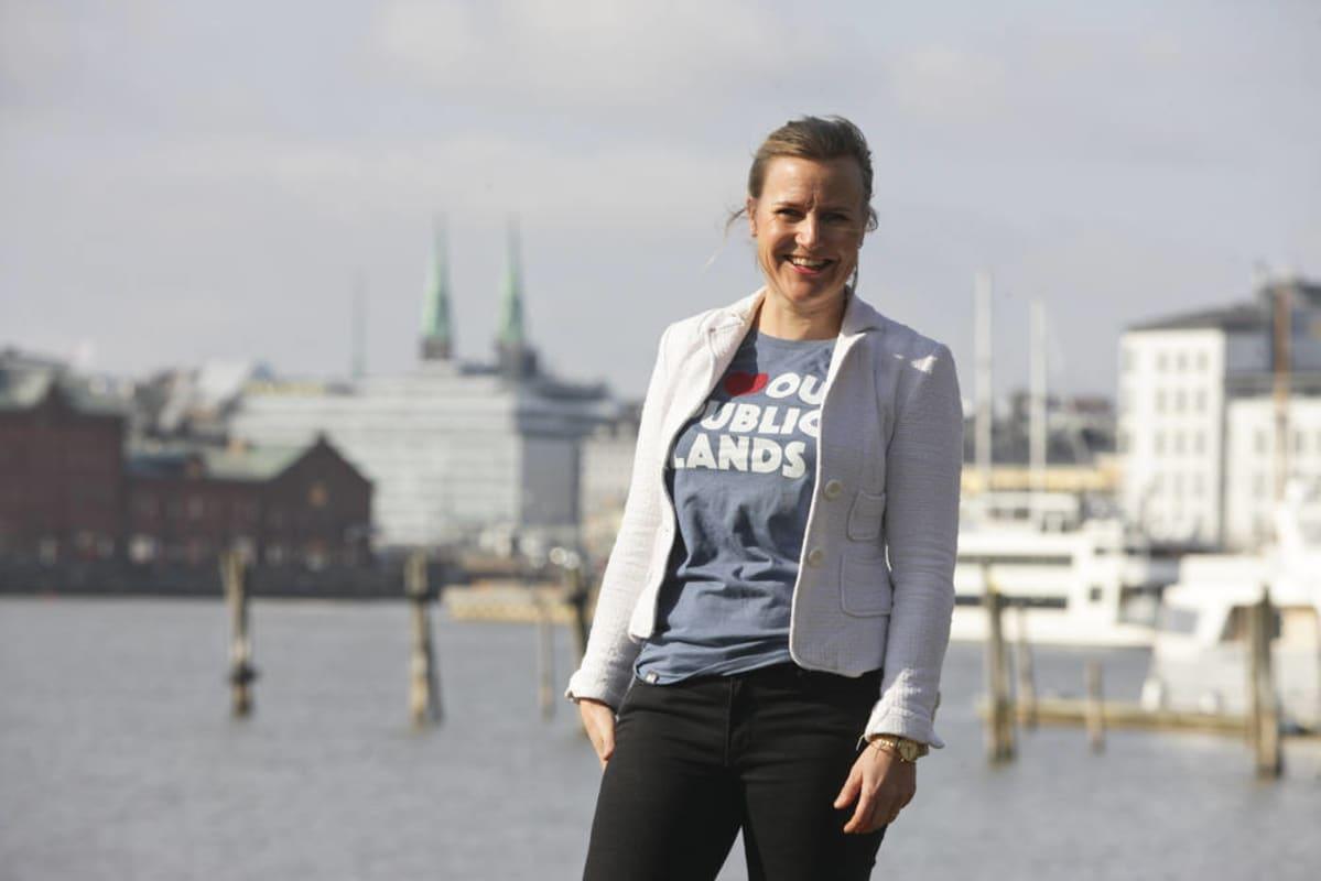 Projektipäällikkö Minttu Perttula Helsingin merellinen strategia Helsinki meri