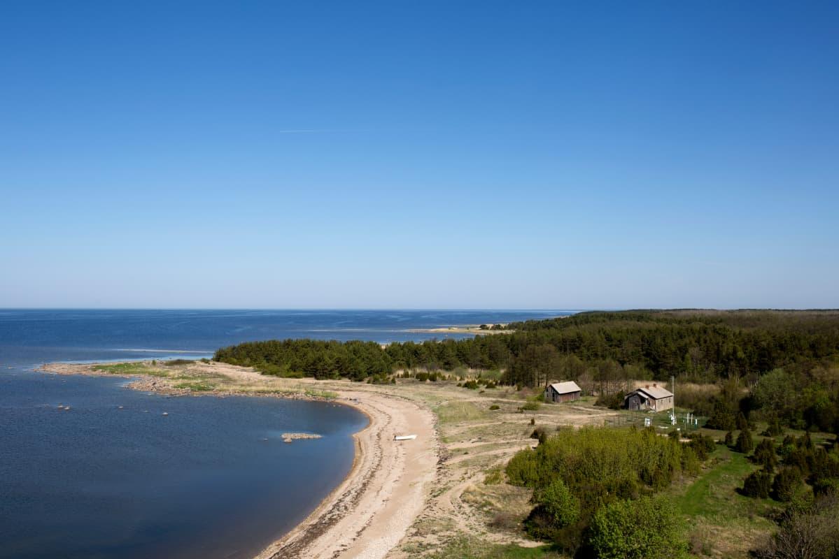 Seitsemän kilometrin pituisella Kihnun saarella on vain 700 asukasta.