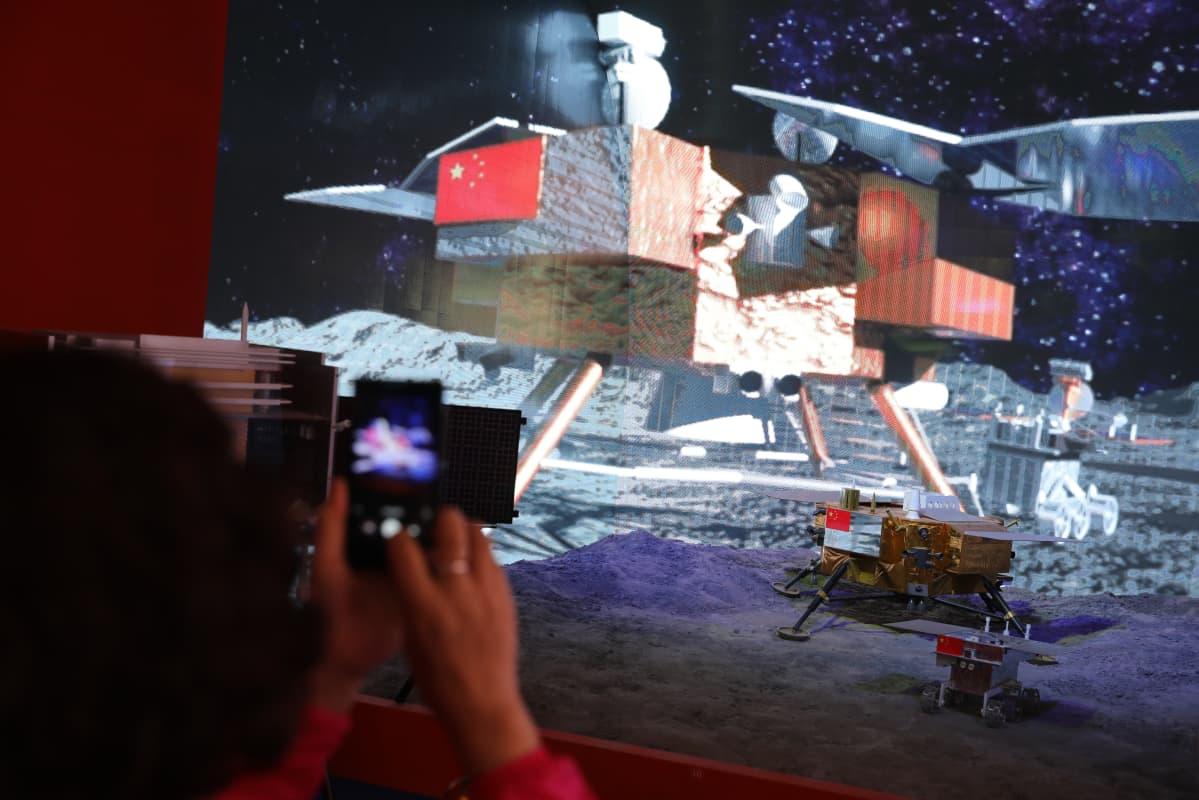 Kiinan avaruusohjelma