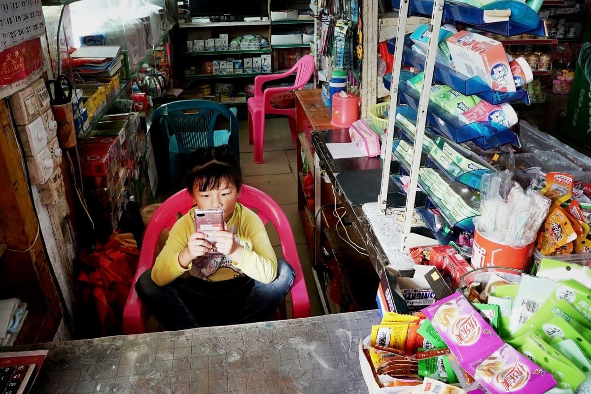koukku Kiinassa