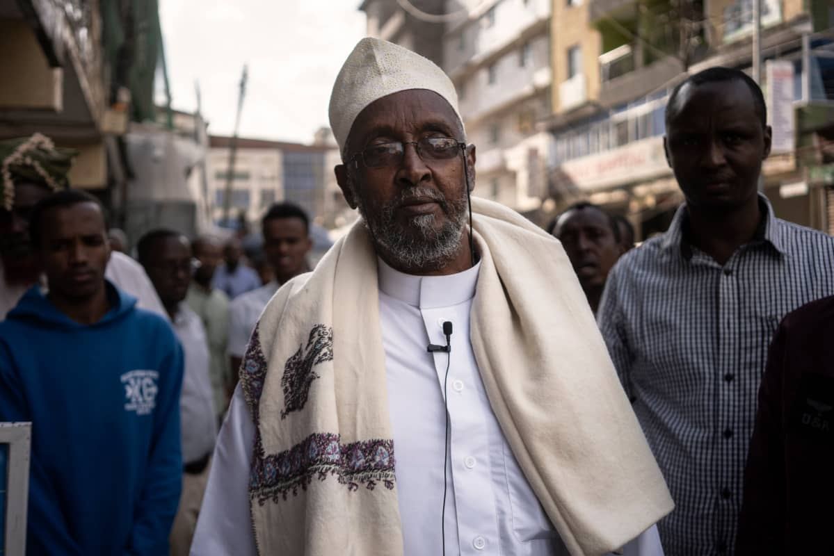 Abdul Nasir Sayyed on asunut Eastleighssä muutaman vuoden. Hän loukkaantui terrori-iskussa Somaliassa vuonna 2010.