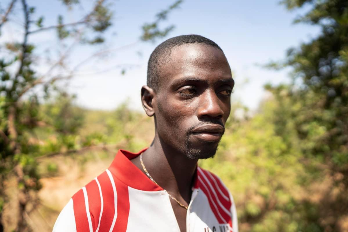 Aasien menettäminen on ollut Fredrick Otienon elämän suurin tragedia.