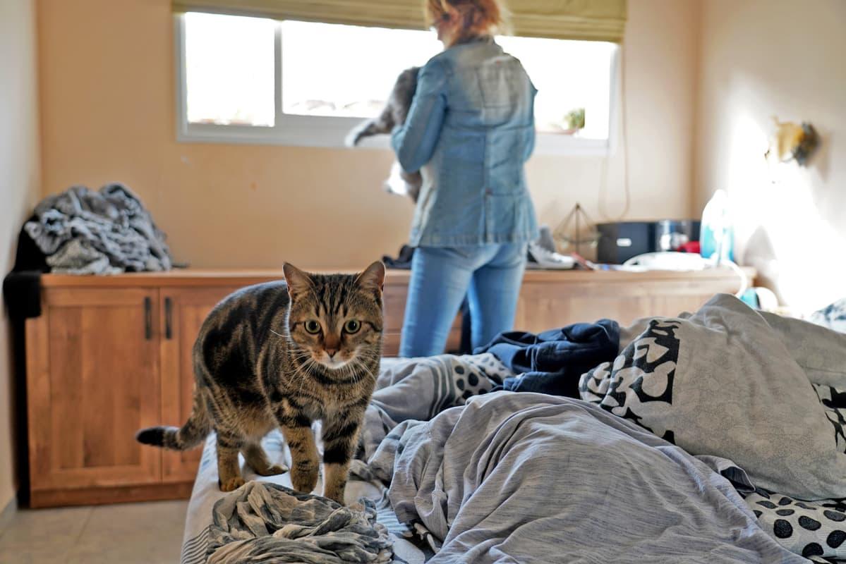 Irina Finkelstein ja kissa