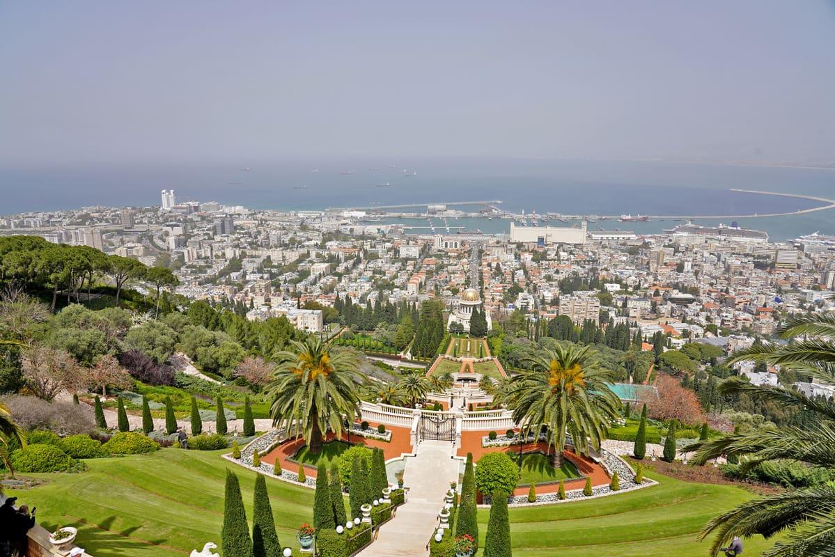 Maisema Haifassa