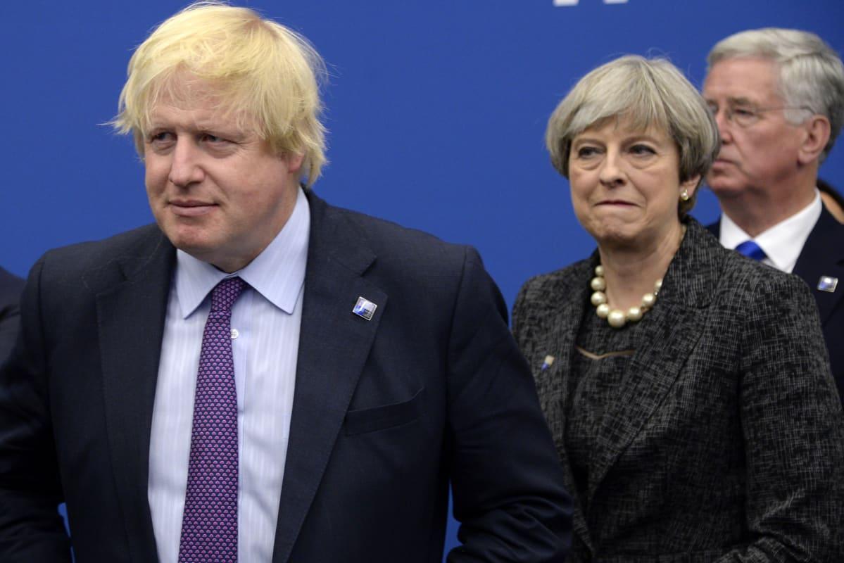 Britannian entisestä ulkoministeristä Boris Johnsonista povataan Theresa Mayn seuraajaa. Arkistokuva.