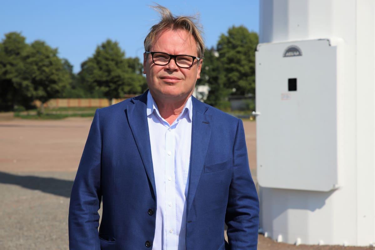 Haminan kaupunginjohtaja Hannu Muhonen.