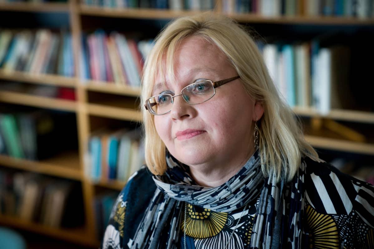 Merja Kauhanen, Palkansaajien tutkimuslaitos, työmarkkinoiden tutkimuskoordinaattori