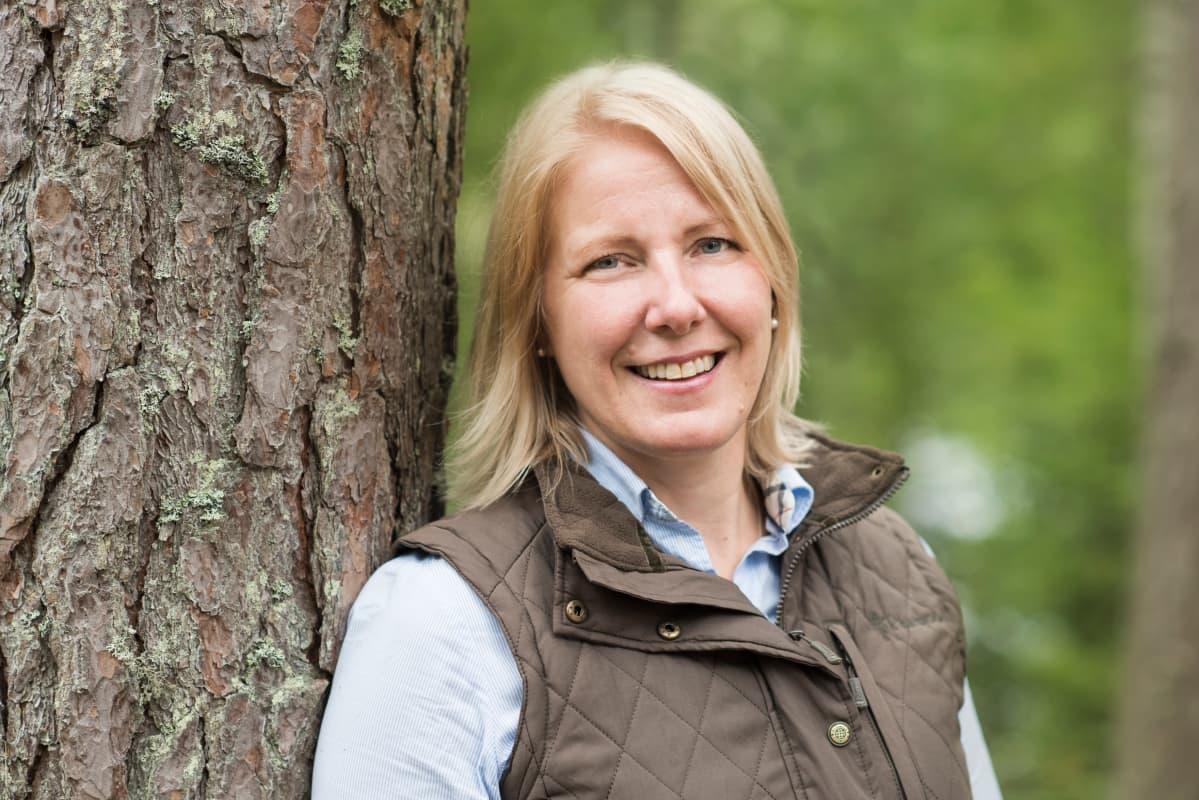 Metsästäjäliiton toiminnanjohtaja Heli Siitari.