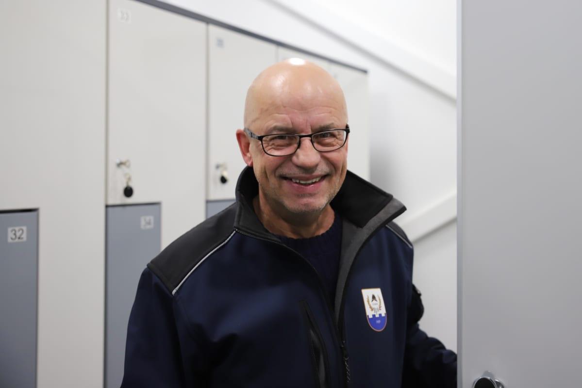 Sysmän VPK:n Jorma Sainio