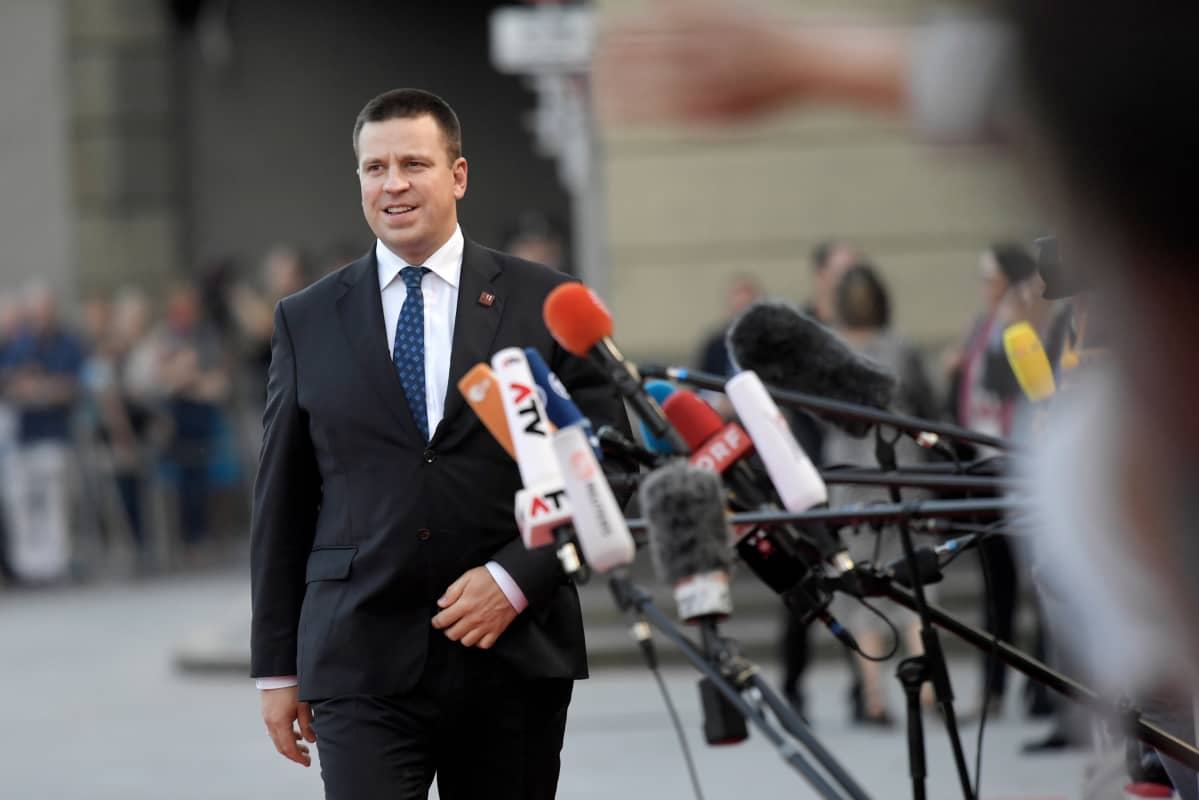 Viron pääministeri Jüri Ratas