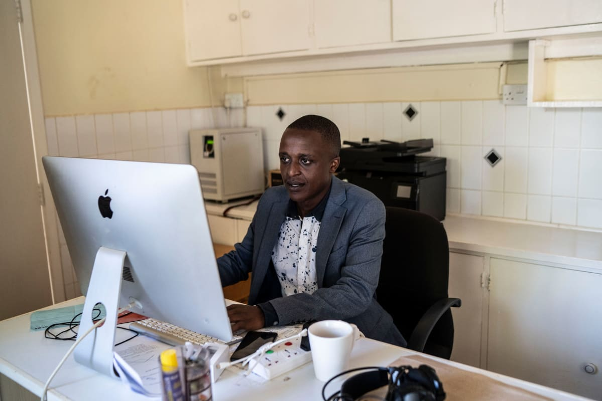 Kevin Gitau Ng'ang'a on iShamba-portaalin projektipäällikkö. Uuden kilpailun avulla hän toivoo, että portaaliin tulisi paljon uusia käyttäjiä.