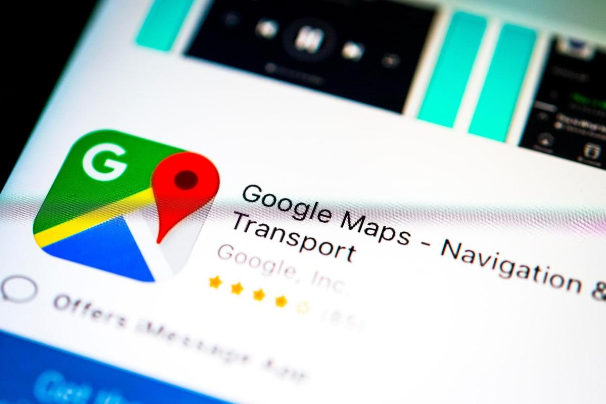 Google Maps kuvitus