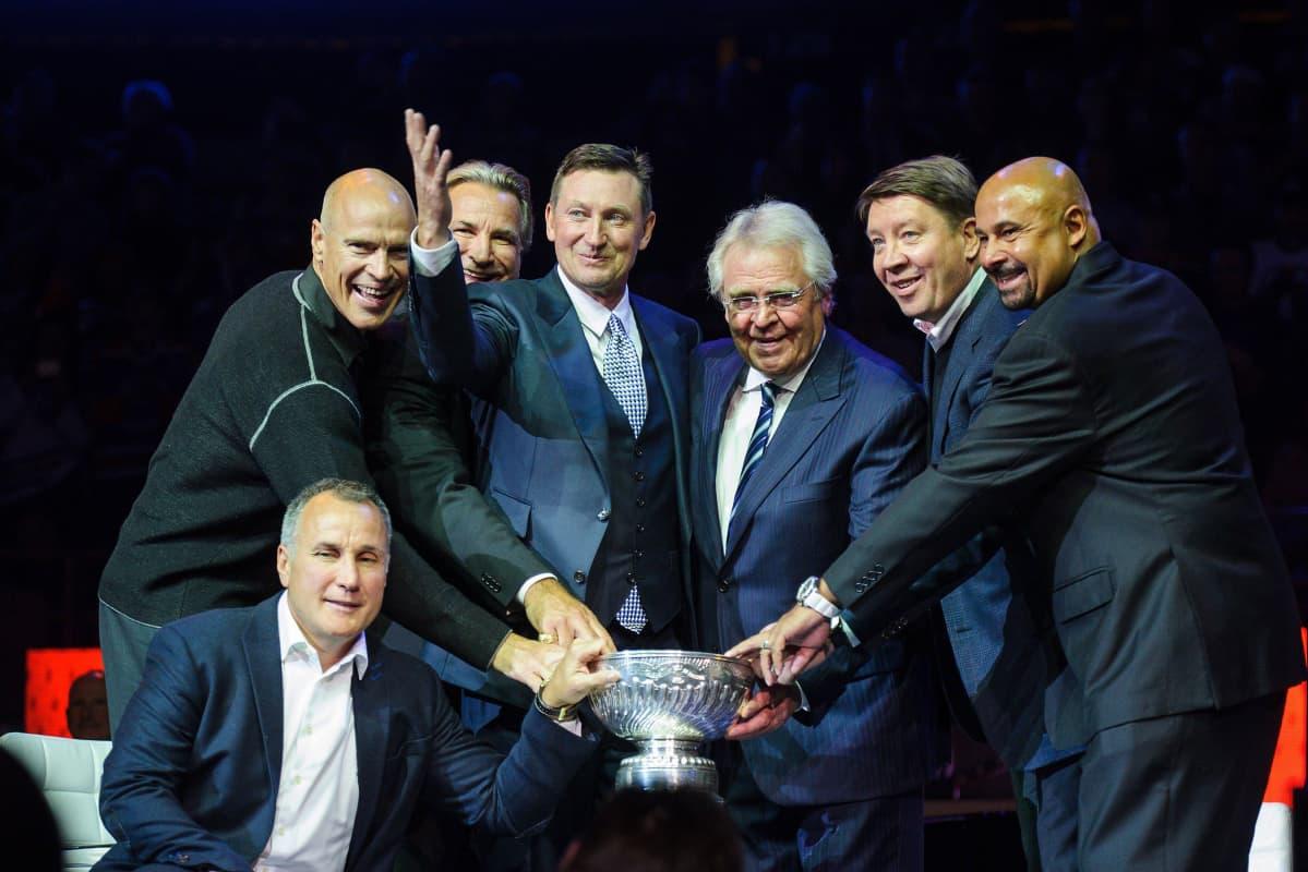 Edmonton Oilers Stanley Cup Reunion 2014