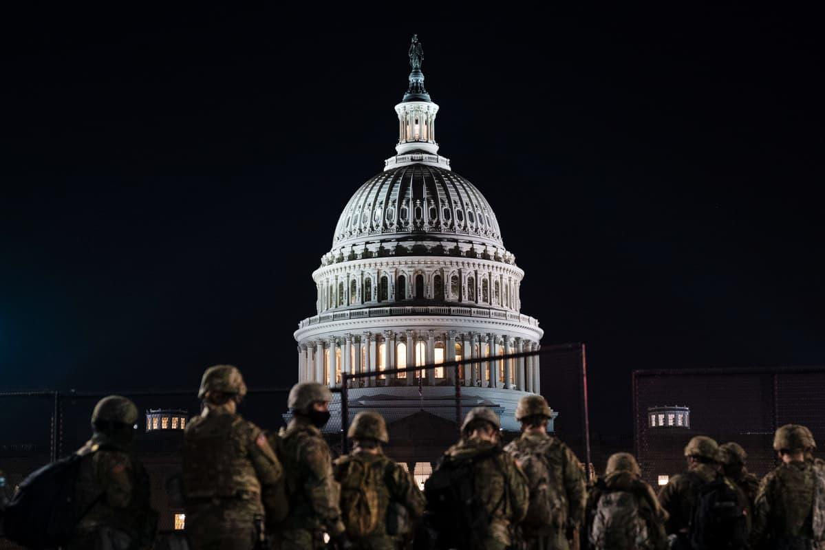 Kansalliskaarti Capitolilla.