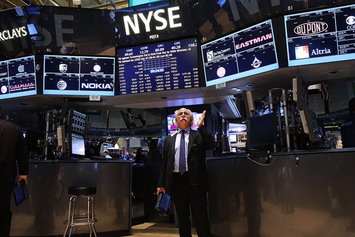 New Yorkin pörssi 1. lokakuuta.