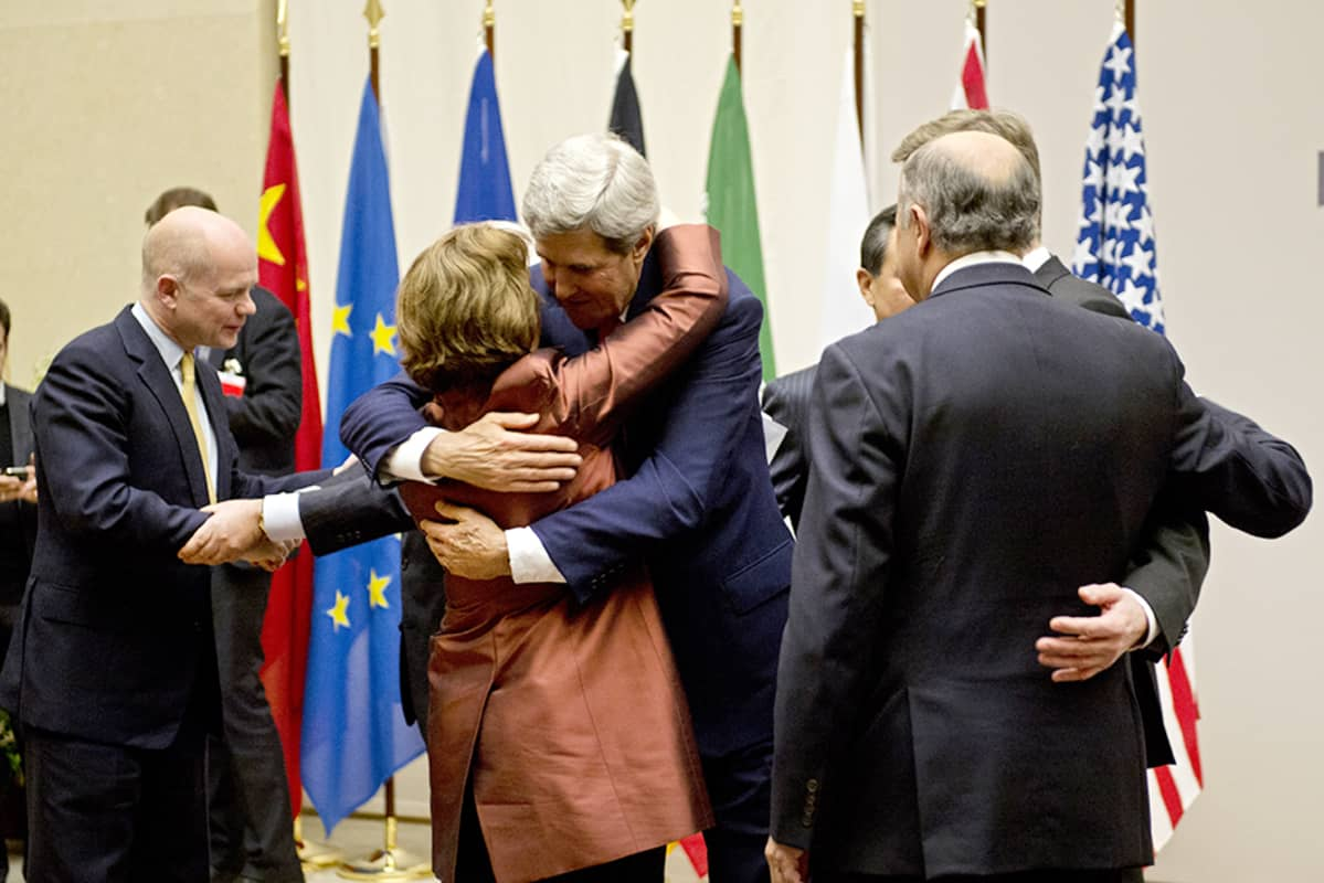 Genevessä saavutettiin sopu Iranin ydinohjelmasta 23. marraskuuta.