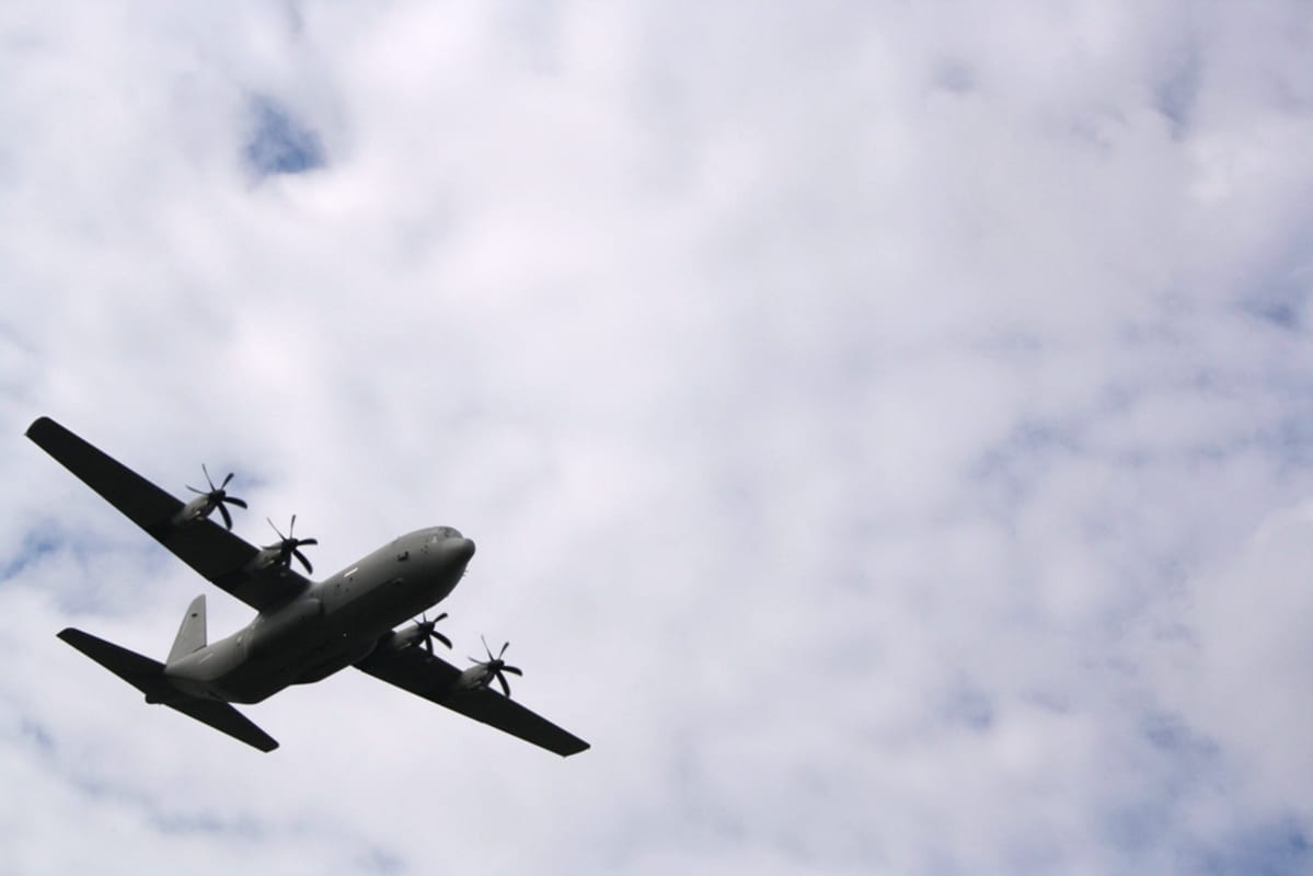 C-130 Hercules -kone.