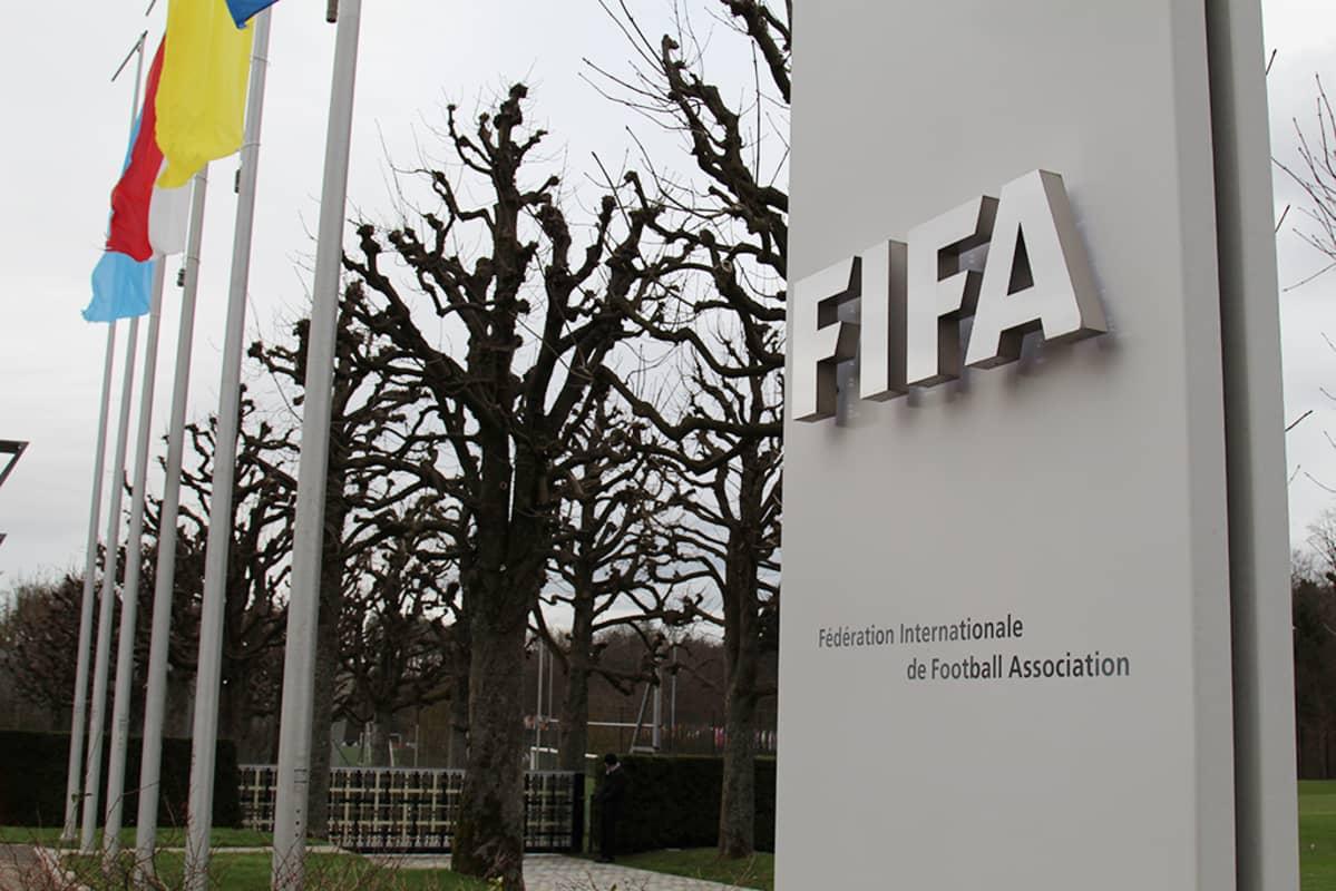 FIFA logo.