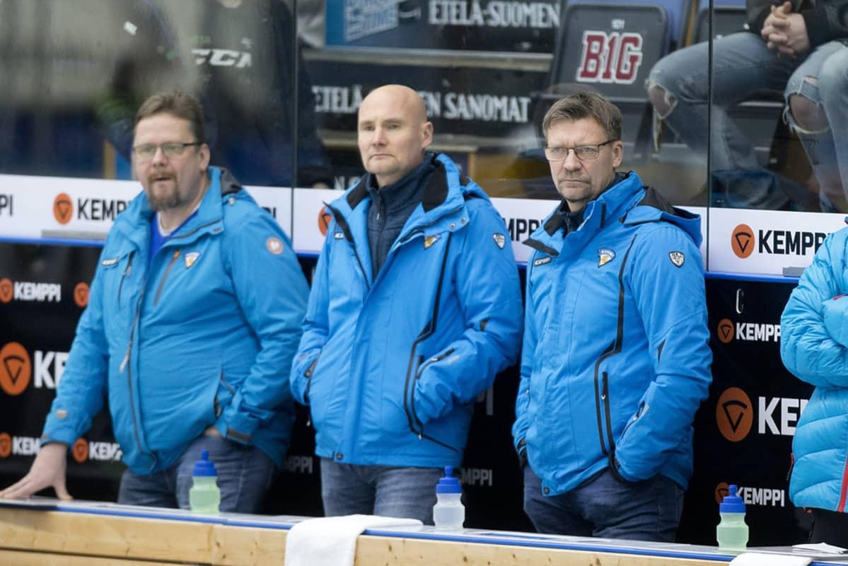 Timo Lehkonen ja Jukka Jalonen.
