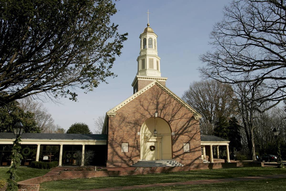 Episkopaalinen kirkko Virginiassa, Yhdysvalloissa.
