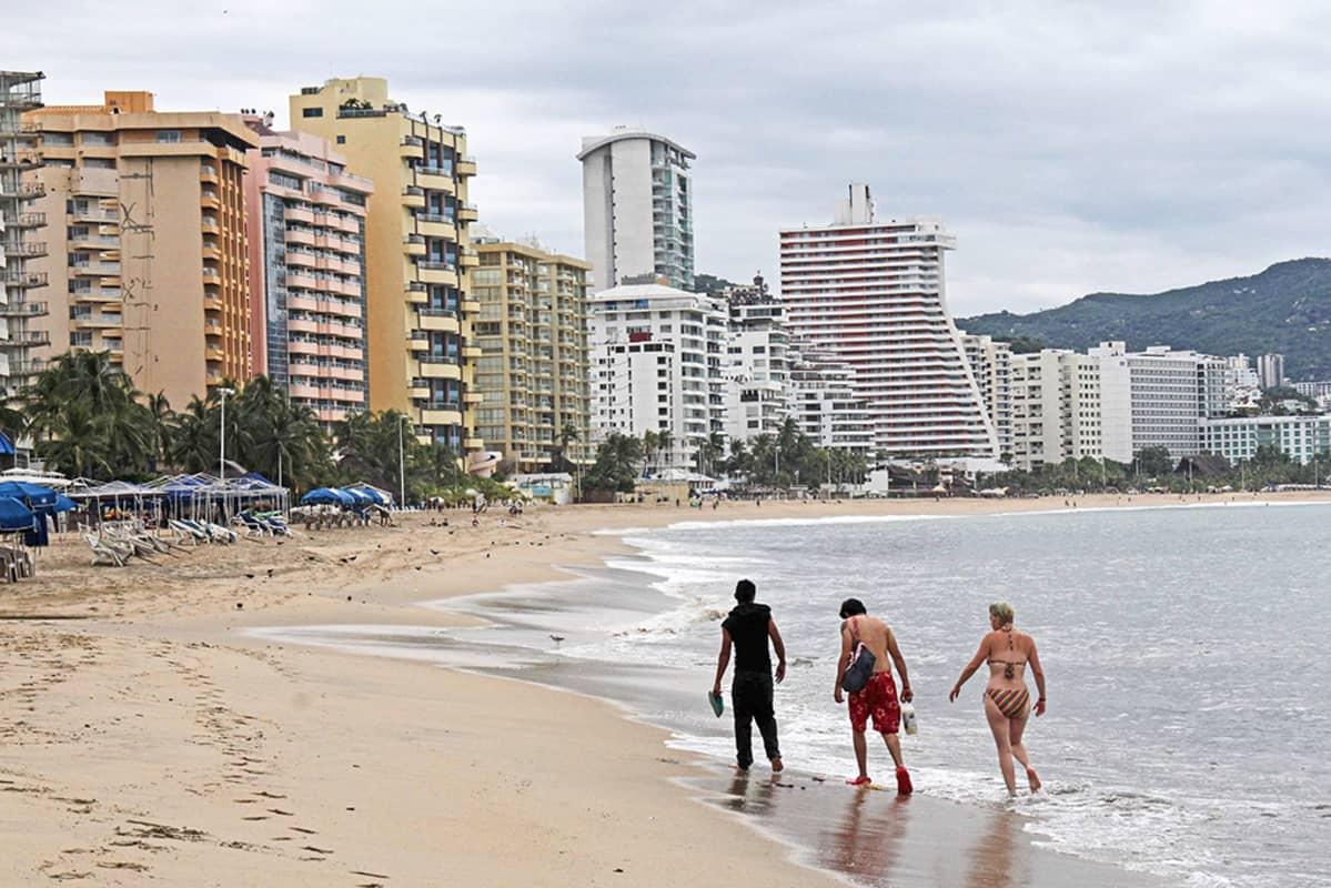 uimarantaa acapulcossa