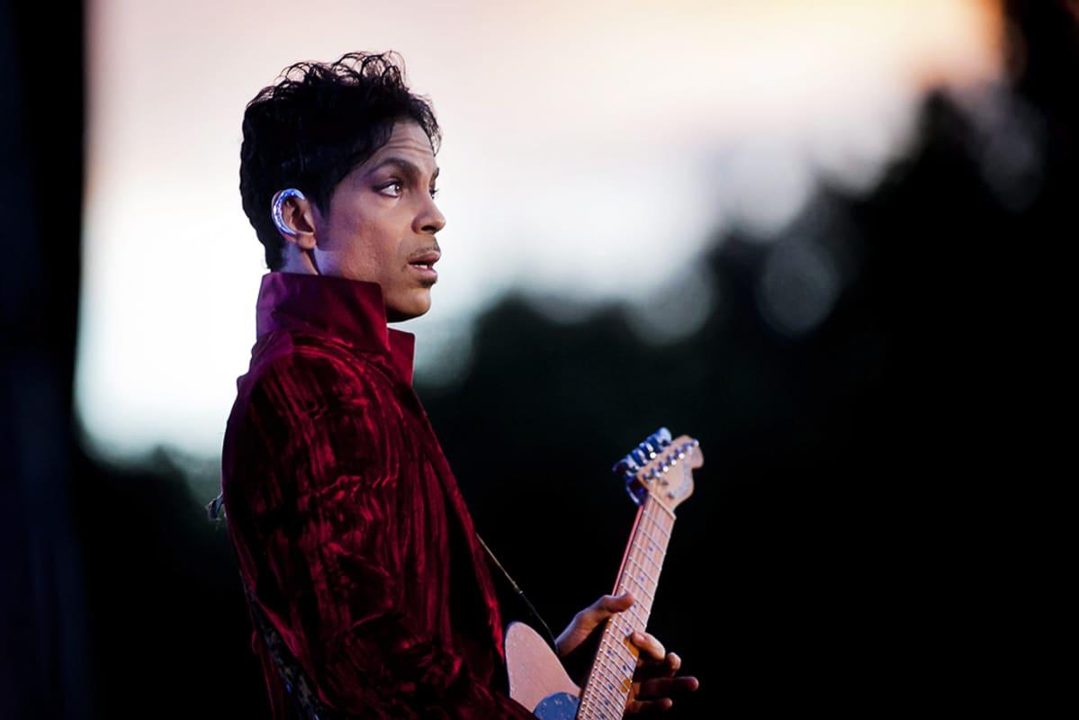 Prince Sziget-festivaaleilla Budapestissa Unkarissa elokuussa 2011.