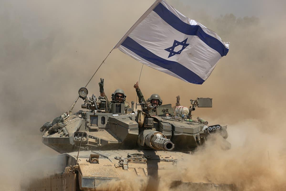 Israel suoritti operaation tuhotakseen Gazan tunneleita.