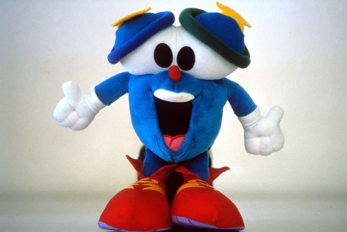 Izzy, Atlantan olympialaisten maskotti vuonna 1996.
