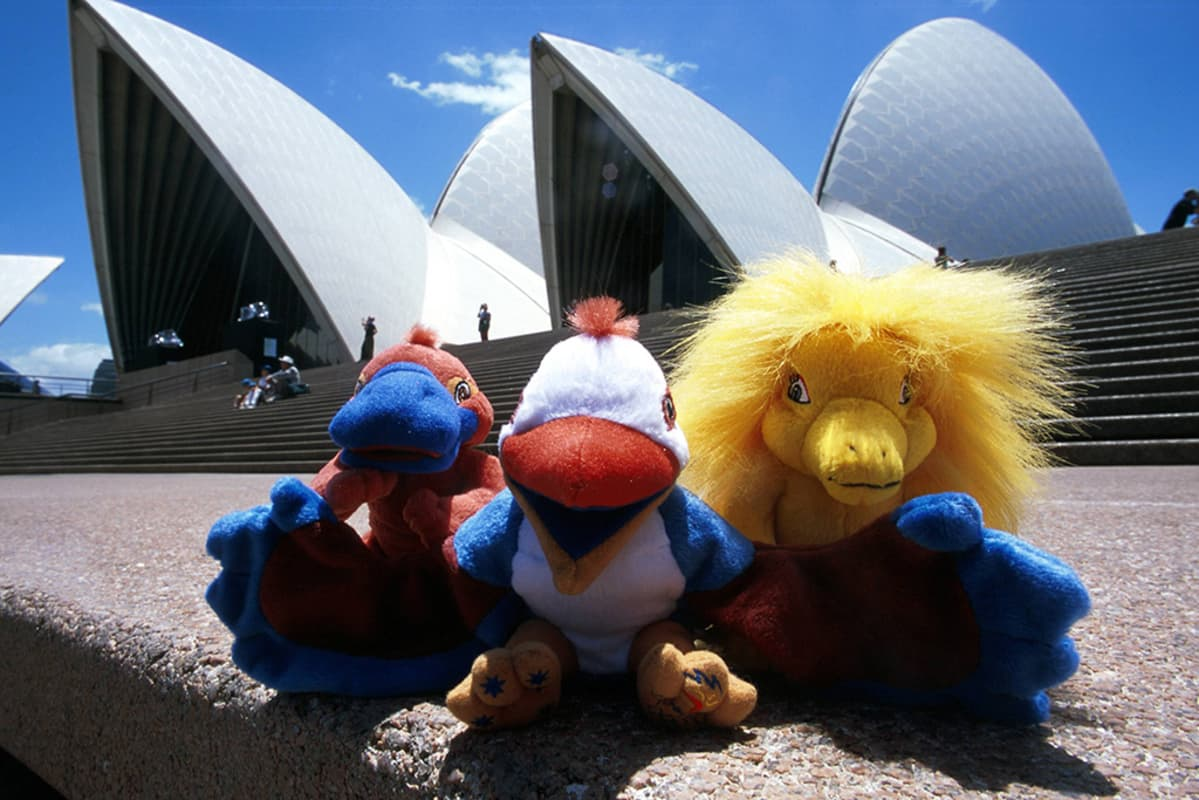 Sydneyn olympialaisten maskotit Syd, Olly ja Millie