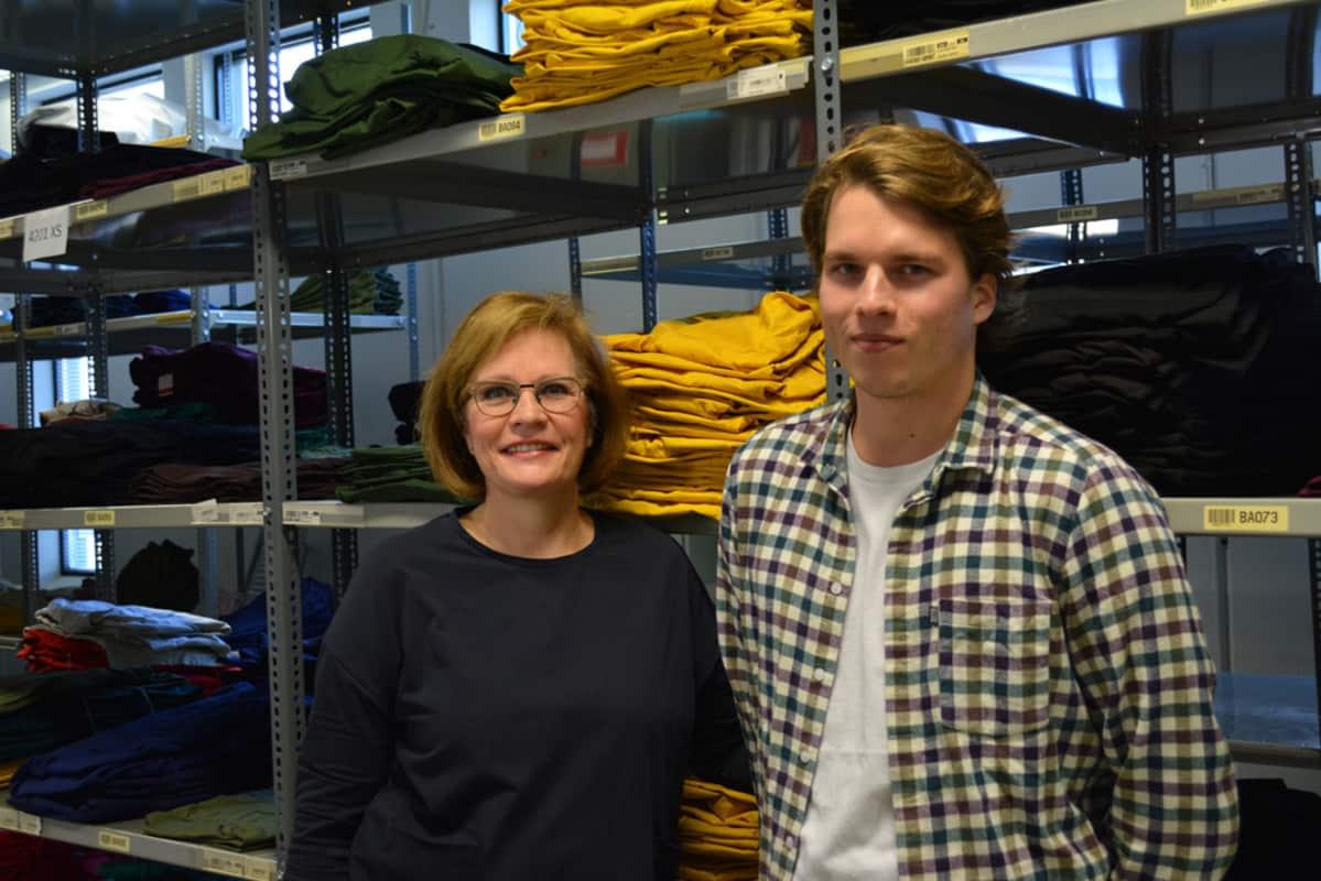 Marjo ja Olli Saastamoinen