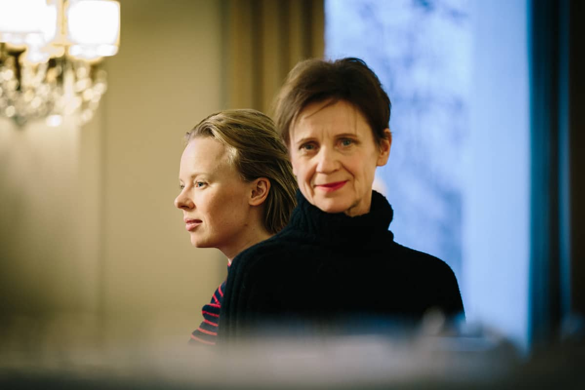 Alma Pöysti ja Ylva Ekblad