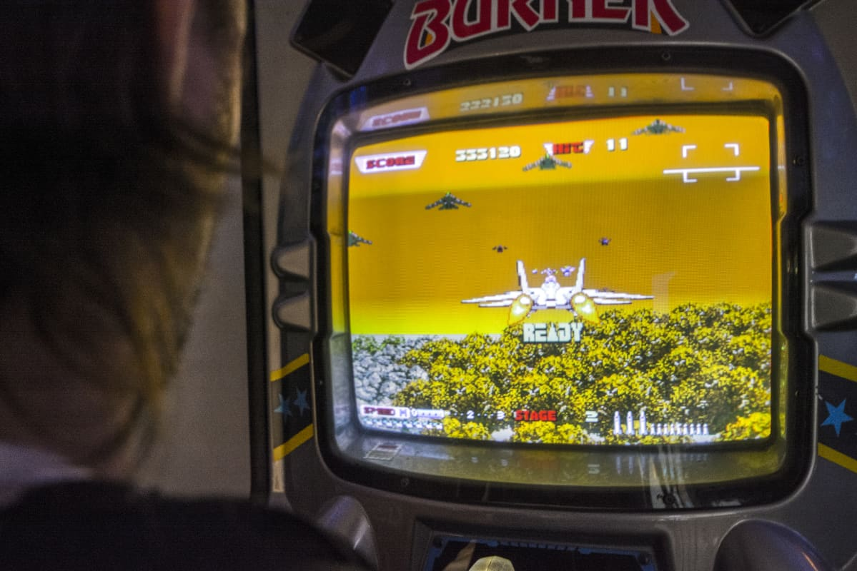 After Burner - lentokonepeli.