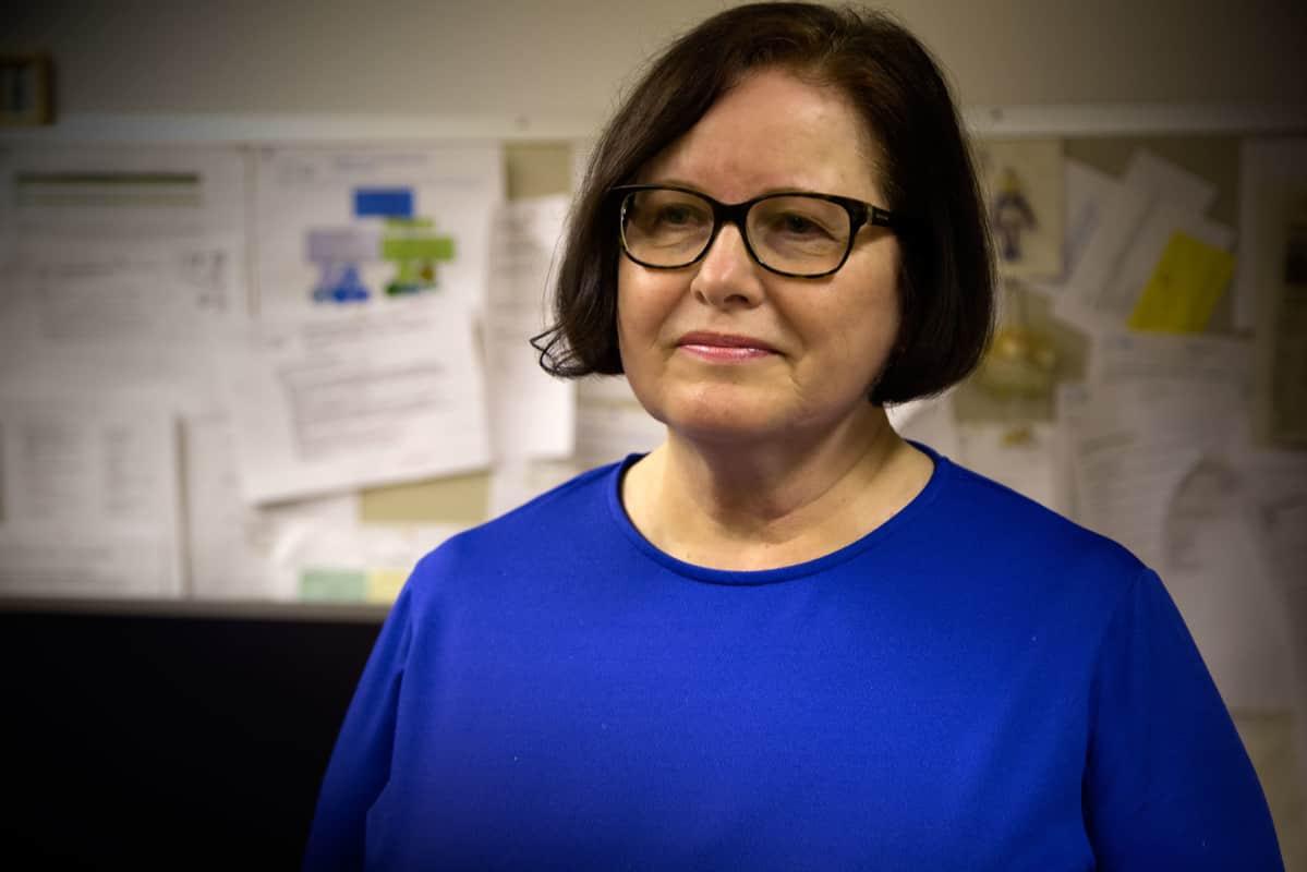 Opiskeluhuollon vastuualuepäällikkö Merja-Riitta von Schantz, Espoo