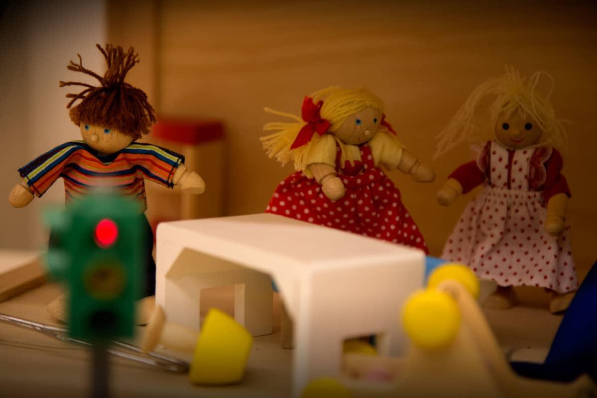 Nukkekoti Espoon lastenpsykiatrian avohoitoyksikössä