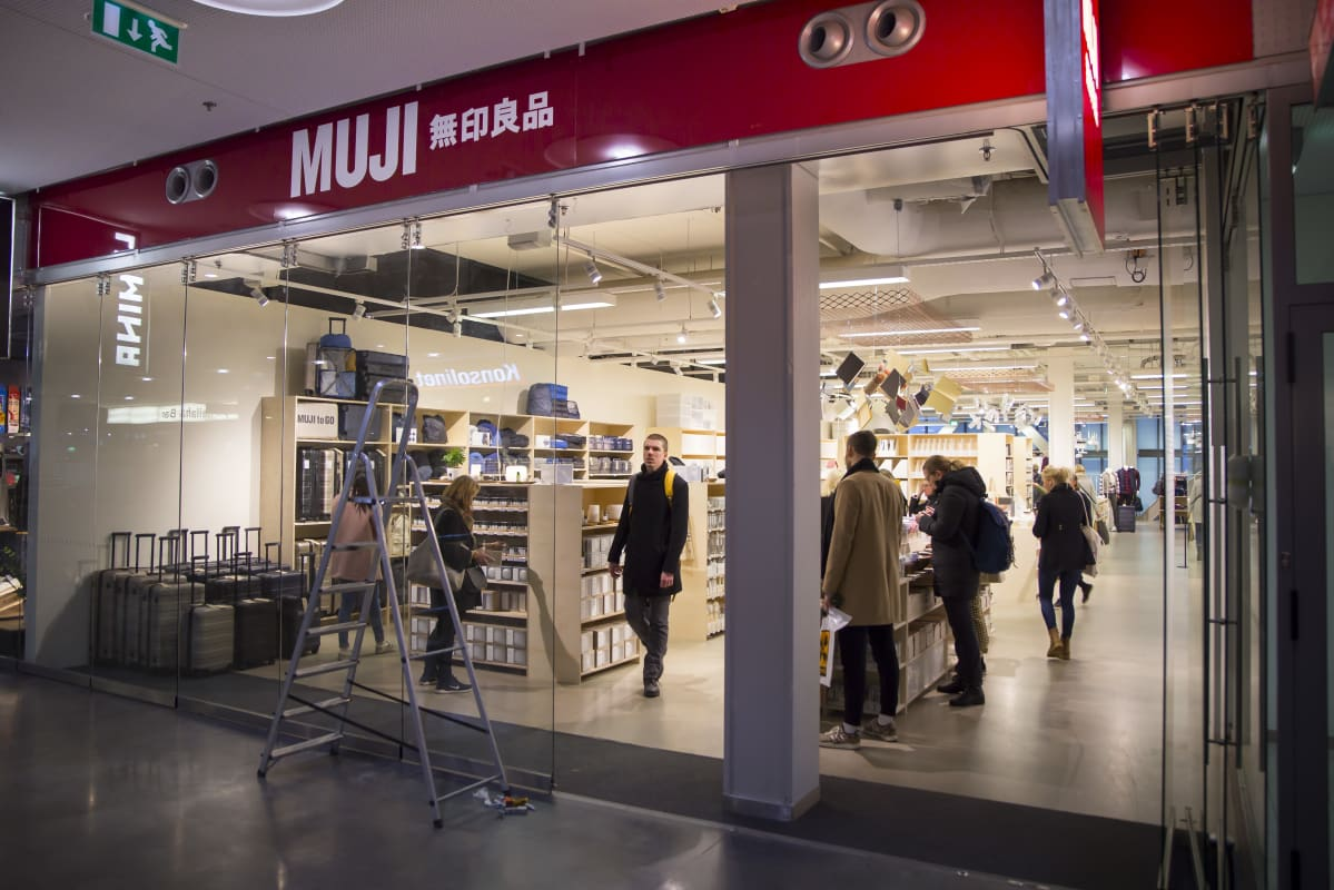 Muji myymälä , Kamppi Helsinki