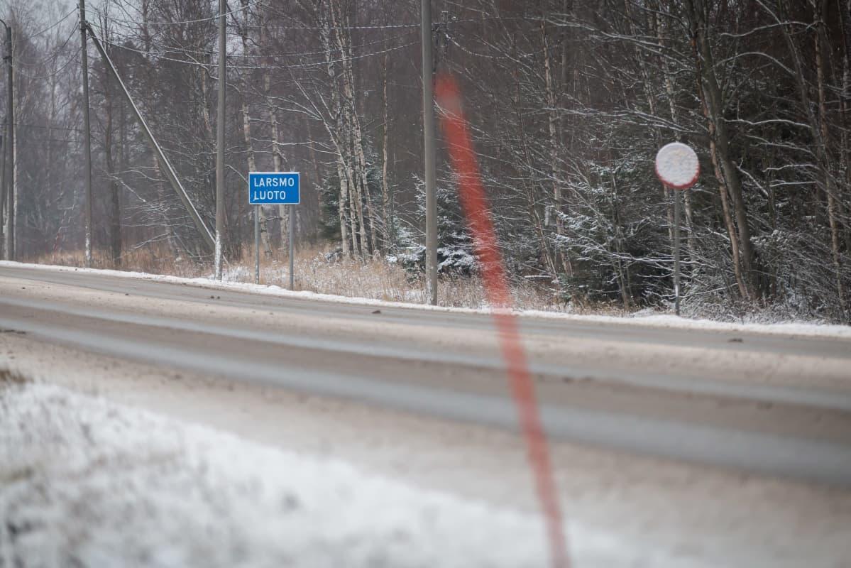 Kyltti Larsmo - Luoto tien varressa, Luoto 4.12.2018