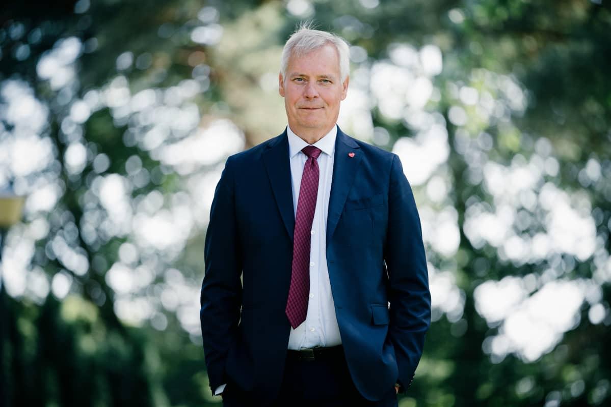 Antti Rinne, Kesäranta, 01.08.2018