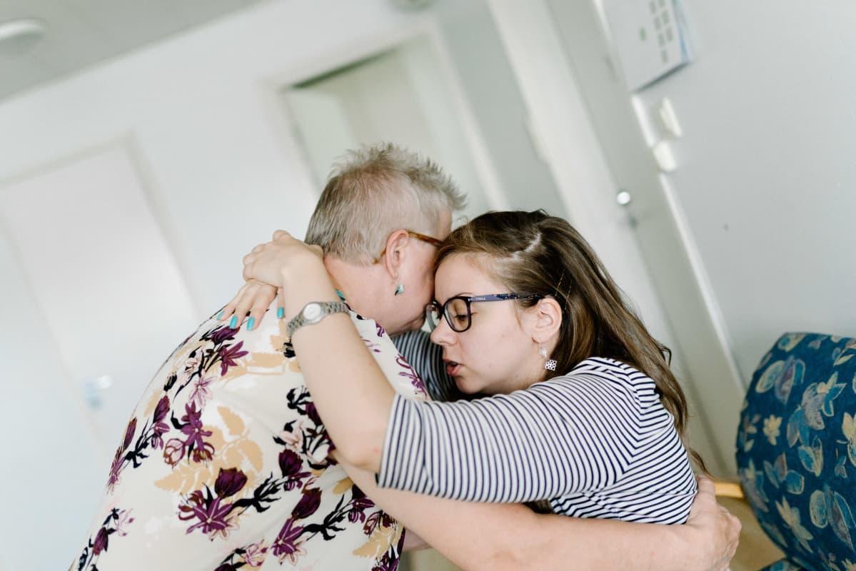Linda Sorrius ja Eila Aurelius, Salo, 07.08.2019