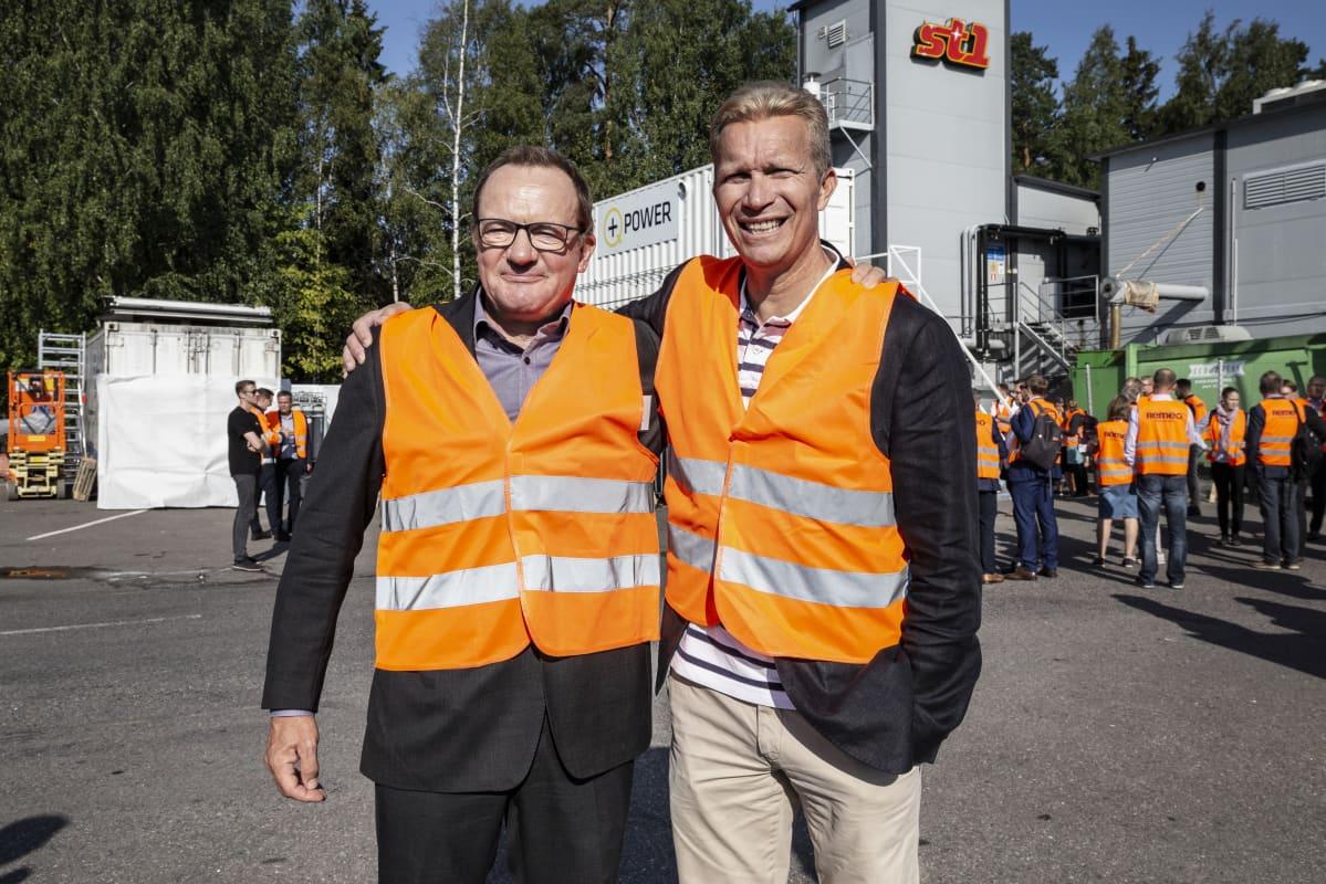 Ilkka Herlin ja Mika Anttonen